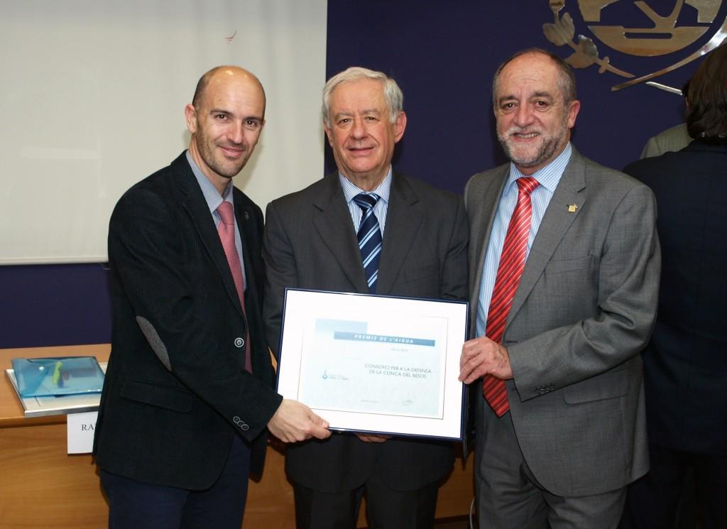 El Consorci per a la Defensa de la Conca del riu Besòs, Premi de l'Aigua 2013
