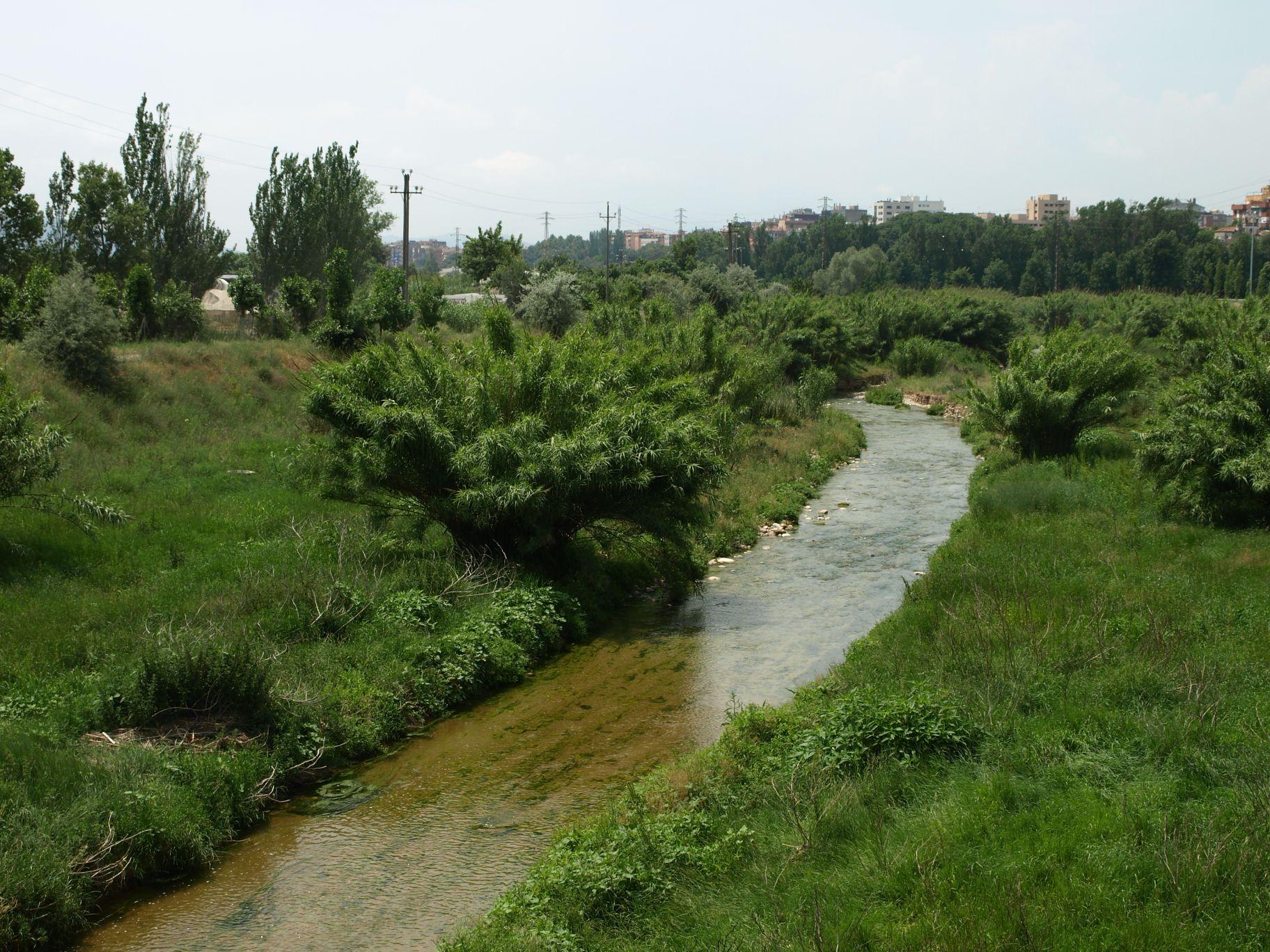 Riu Tenes Parets del Vallès