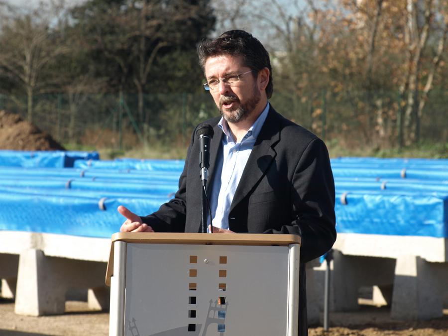 José Antonio Montero, alcalde de Montornès