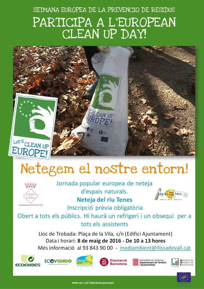 let's clean up europe llissa de vall