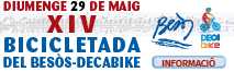 Bicicletada del Besòs-Decabike - 29/05/2016 - Informació