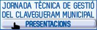 Jornada Tècnica Gestió Clavegueram Municipal