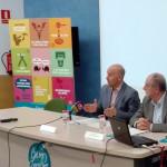 Mingote i Vila durant una presentació al Consorci br