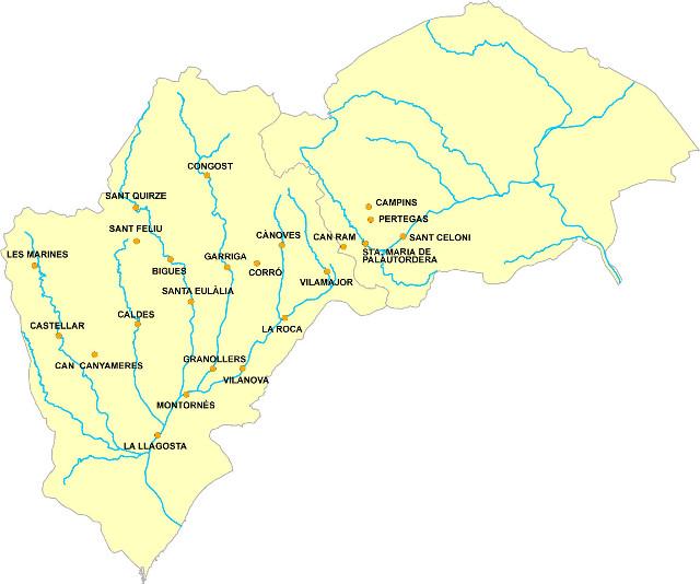 Mapa EDARs