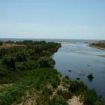 Riu Besòs desguàs mar