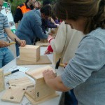 Matinal Natura Montornès - taller caixes niu