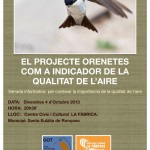 Poster Orenetes 2013