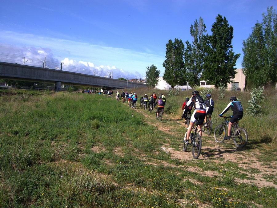 Bicicletada a Montmeló