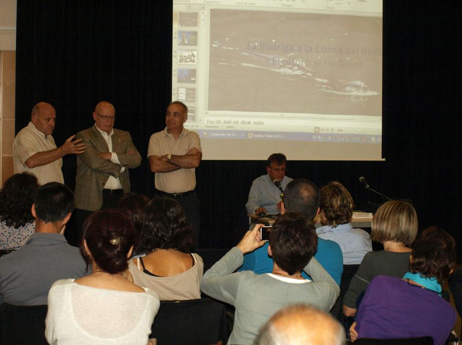 Conferència: El retorn de la llúdriga al riu Tenes