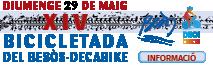 Bicicletada Besòs-Decabike 29/05/2016 - Informació
