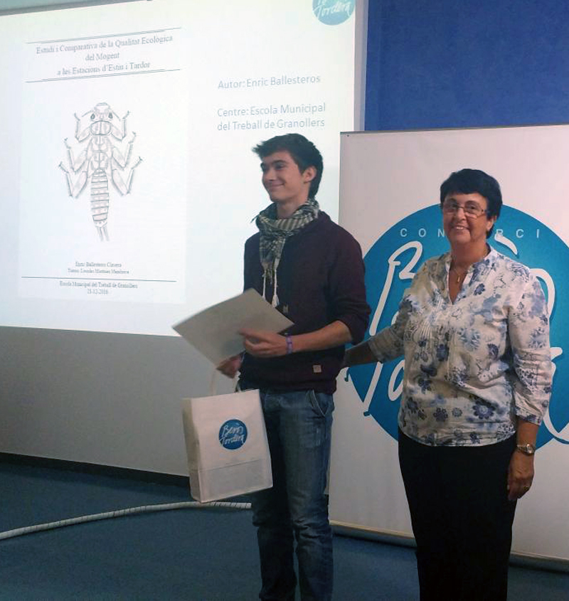 1r Premi Treball de Recerca