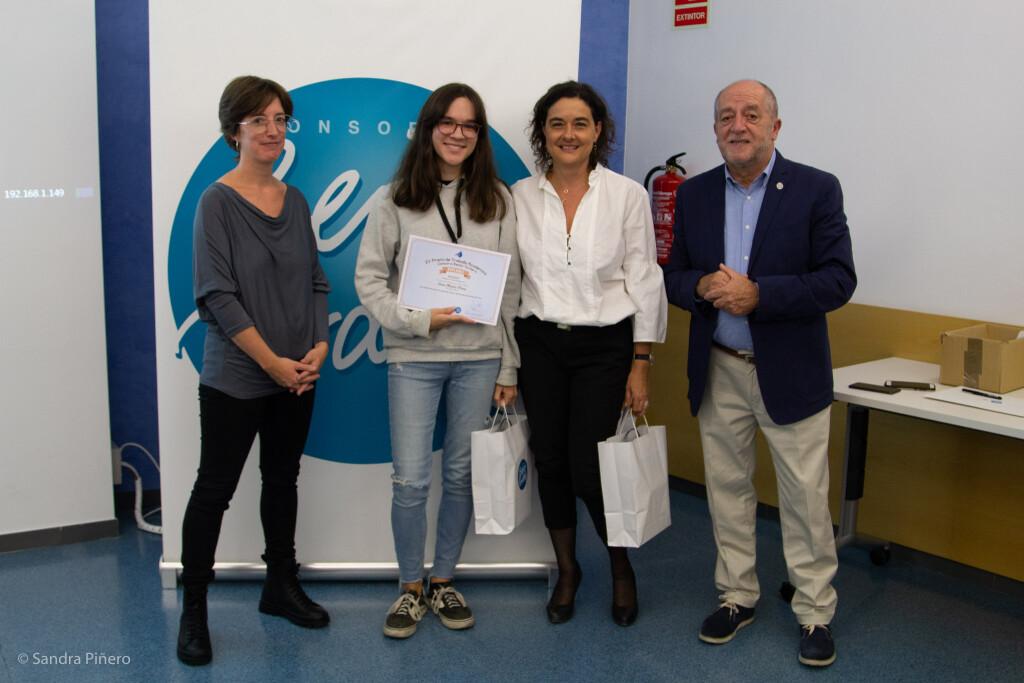 Sara Muñiz, accèssit Treballs de Recerca