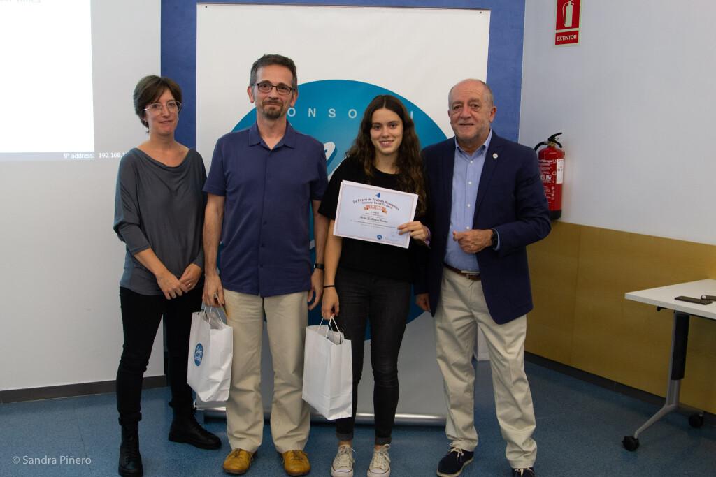 Berta Guillamon, 1r Premi de Treballs de Recerca