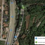 Mapa localització_PROECA_Macroinvertebrats_2019